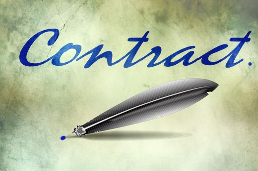A contract is an agreement of terms between two or more parties.