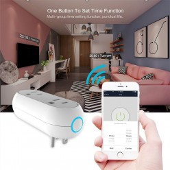 Smart WiFi Enabled Plug Capsule With Dual Controls
