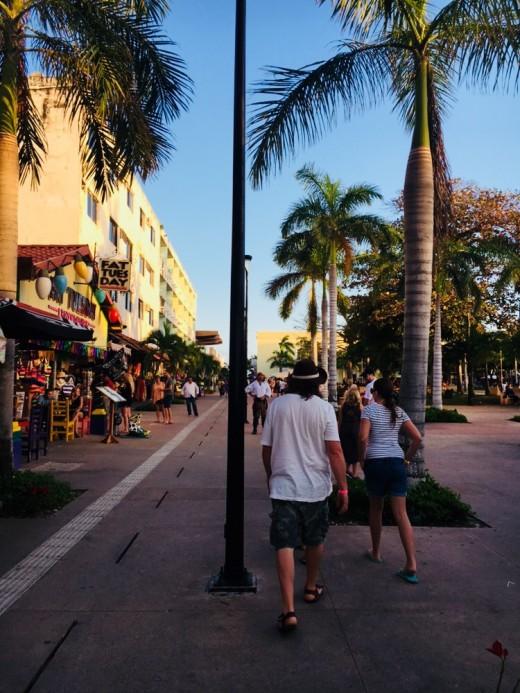 Walking is SAN Miguel