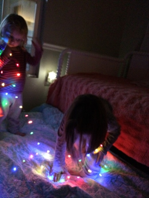 Do you have a string or two of fairy lights hanging out? Turn off the lights and turn on the fun with these magical, battery powered miracles.