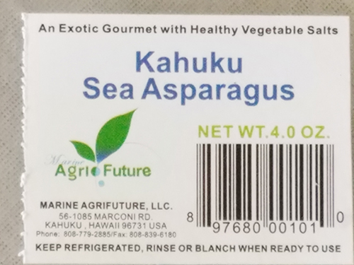 """Other """"sea vegetables"""" can be easily grown in aquaculture."""