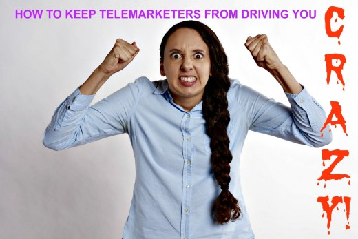 Learn the best ways to deal with those pesky telemarketing calls!