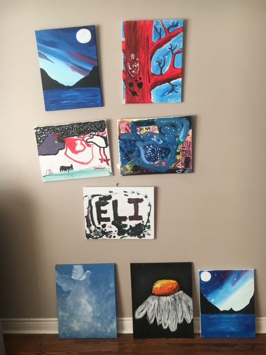 Some pictures we have painted