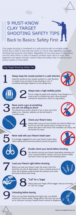 9 Must-Know Safety Tips on Clay Target Shooting