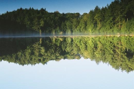 Turtle Bay, on Little Lake Joseph, Muskoka, Ontario