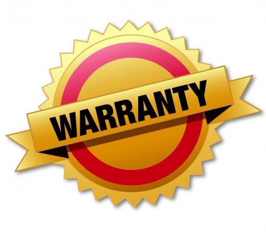 A warranty is a good thing to have!