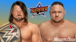 Weekend Wristlock: 3 Reasons Why AJ Styles vs Samoa Joe Should Main Event Summerslam