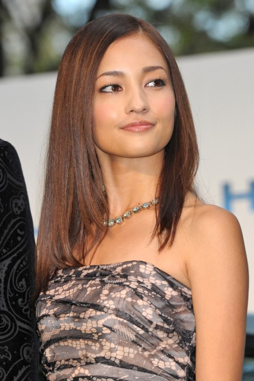Meisa Kuroki seen here at the 2011 Tokyo International Film Festival Opening Ceremony. This was the 24th year that they were doing this event.