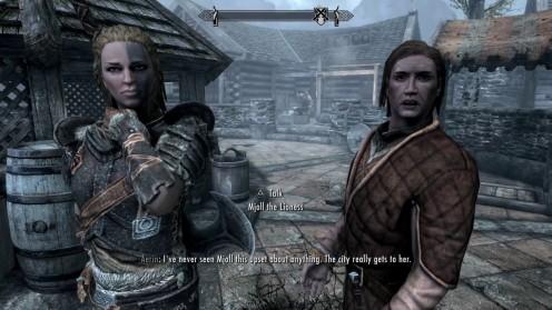 Skyrim: Mjoll Loves the Dragonborn, Not Aerin