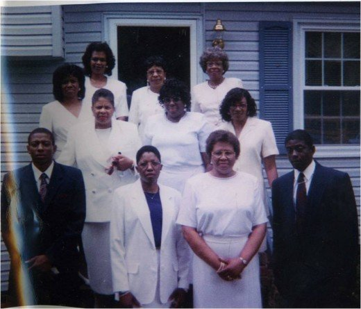 On the day of my mother's funeral on August 10, 1998.
