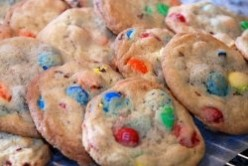 The Best Ever M&M Cookies Recipe