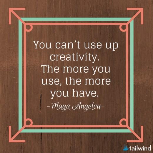 Creativity is non ending