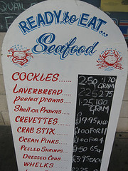 A Popular Dish in Seaside Restaurants in West Wales
