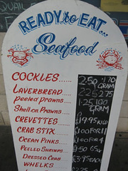 A Popular Dish in Seaside Restaurants in West Wales