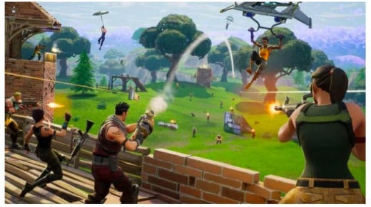 In Fornite's Battle Royale mode, 100 players fight to be the last man standing.