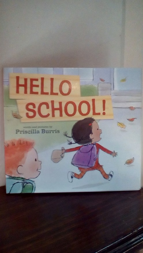 Fun book with adorable illustrations will introduce children to a typical school day