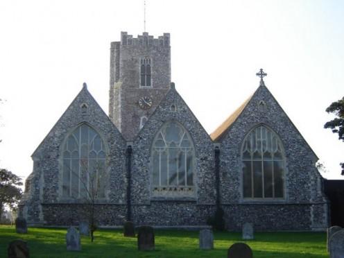 St Andrew's Parish Church, Gorleston-on-Sea, Norfolk, seen from the east