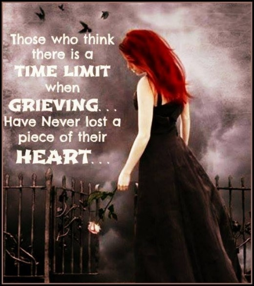 There is no time limit to grief