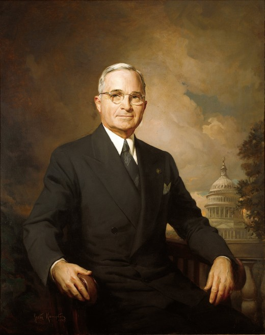 Official Presidential Portrait painted by Greta Kempton