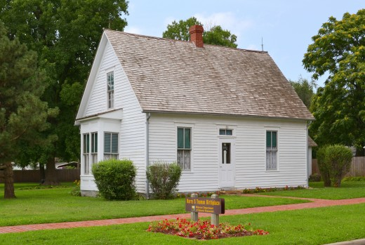 Birthplace of former President Harry Truman in Lamar, Missouri.
