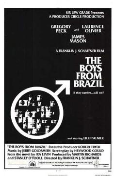 The Boys from Brazil theatrical release poster.