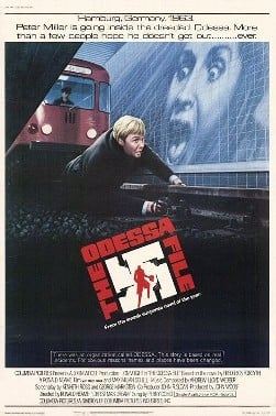 The Odessa File theatrical release poster.