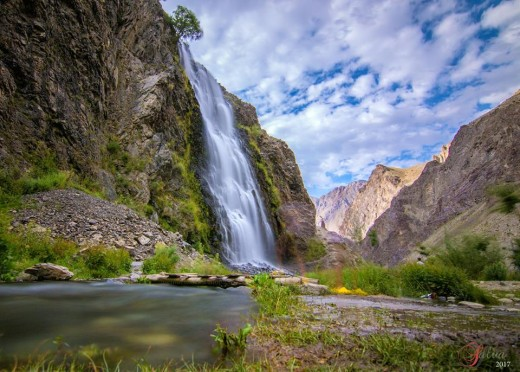 "Manthoka Falls, Kharmang valley, Skardu. In 2010, Lonely Planet summarized Pakistan as, ""tourism's 'next big thing'."