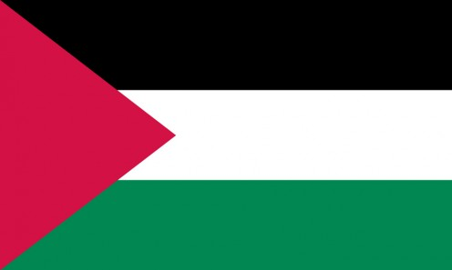 Flag of Palestine.