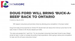 Buck-a-What? Ford Misses Mark on Beer Promotion