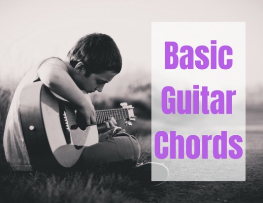By learning a few basic chords, you can play many songs on the guitar.