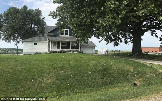 House where Mollie Tibbits vanished while house-sitting. Photo Courtesy of Chris Bott, DailyMail.com