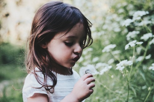 A child and its internal nature a reflection of the inborn human innocence.