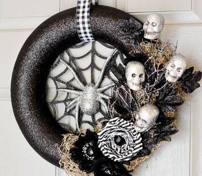 27 Best Halloween Wreaths To Make Feltmagnet