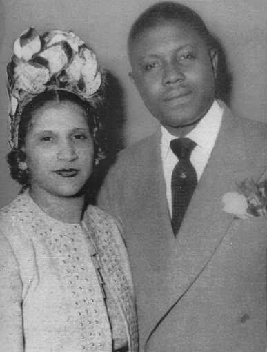 Aretha Franklin's parents.