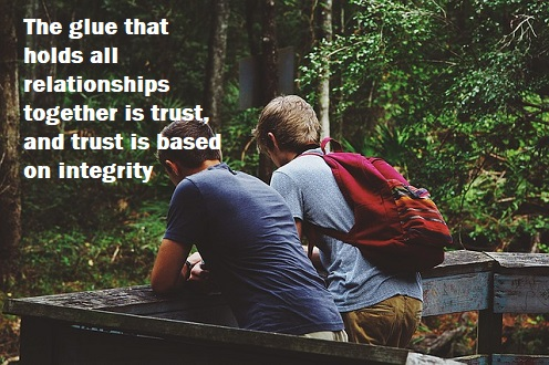 Good friendships are built on the foundation of trust