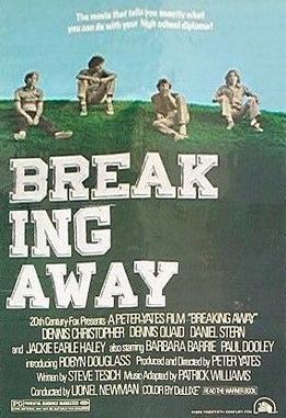 Breaking Away original release poster