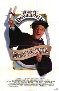 Back to School film poster