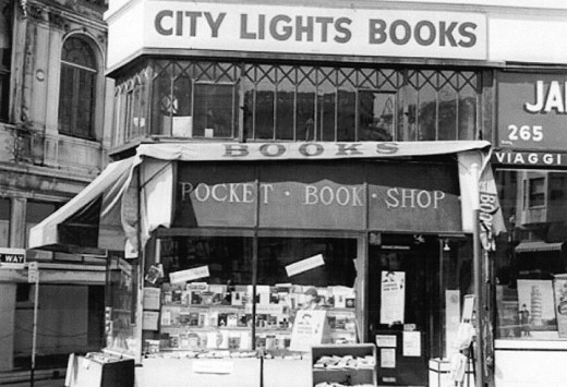 City Lights Books 1950s