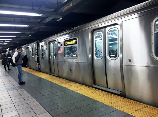 The New York City metro is a great way to experience the city underground.