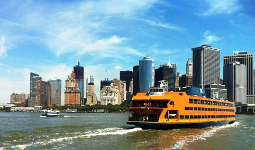 The Staten Island Ferry  in New York City is free!