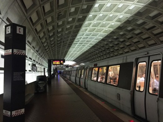 The Washington DC metro is a great way to get around the city
