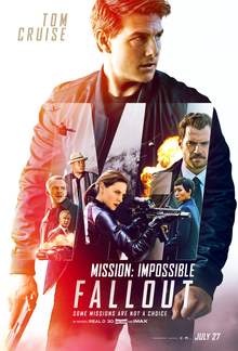 Mission: Impossible Fallout, theatrical release poster.