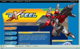 Exteel.com Home Page