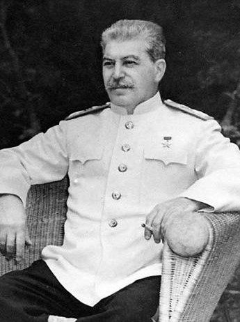 A doctor deemed Stalin unfit for military duty because of his crippled arm. This, at least, seems more legitimate than Trump's bone spur draft dodge