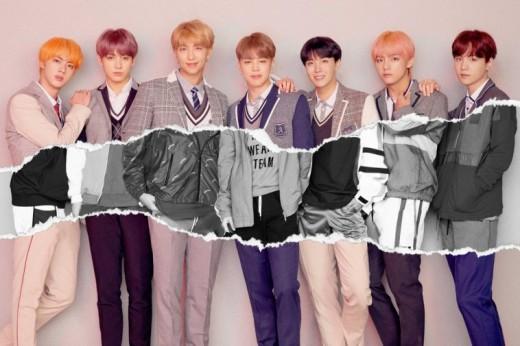 BTS (L-R) Jin, Jungkook, RM, Jimin, Jhope, V, Suga