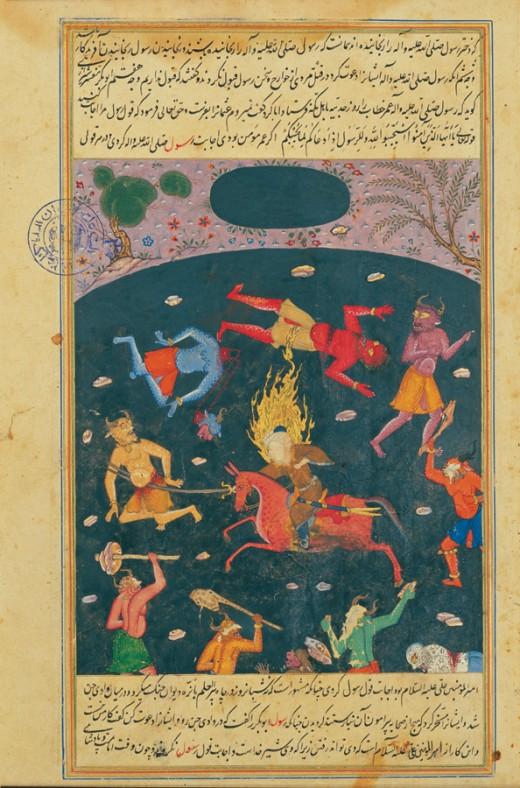 Jinn is an arabic term for genie, a creature with supernatural powers