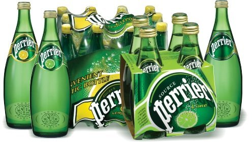 In 1976, Perrier bottled water appeared on grocery store shelves for the first time.