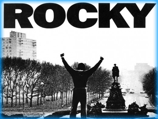 In 1976, Sylvester Stallone wrote the script for Rocky in three and a half days.