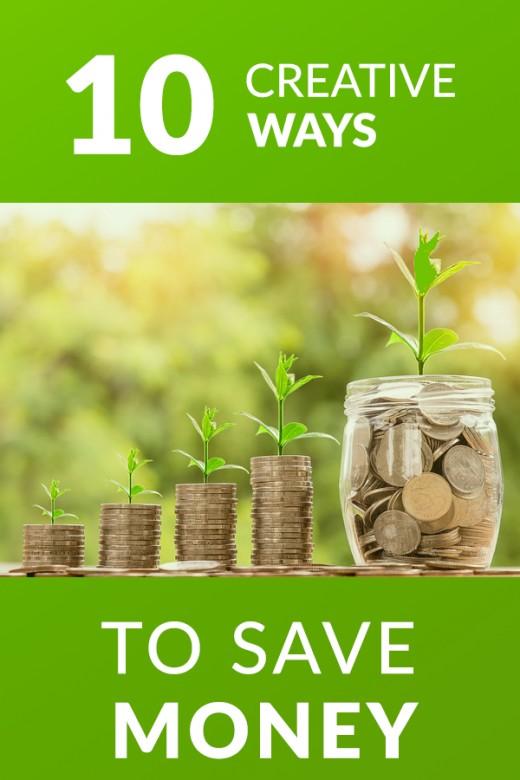 top ten creative ways to save money