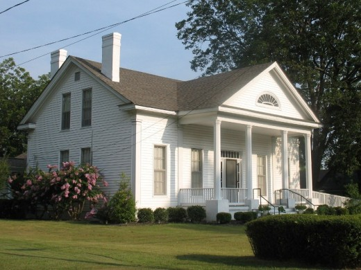 The Boling-Gatewood House of Holly Springs, Mississippi.  Ida B. Wells' father built this house, and she was born in it.  It is now a museum dedicated to her legacy.